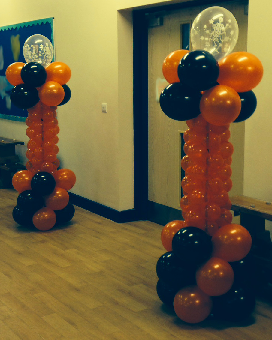 My finishing touch balloon artist and event decorations for Balloon decoration for halloween