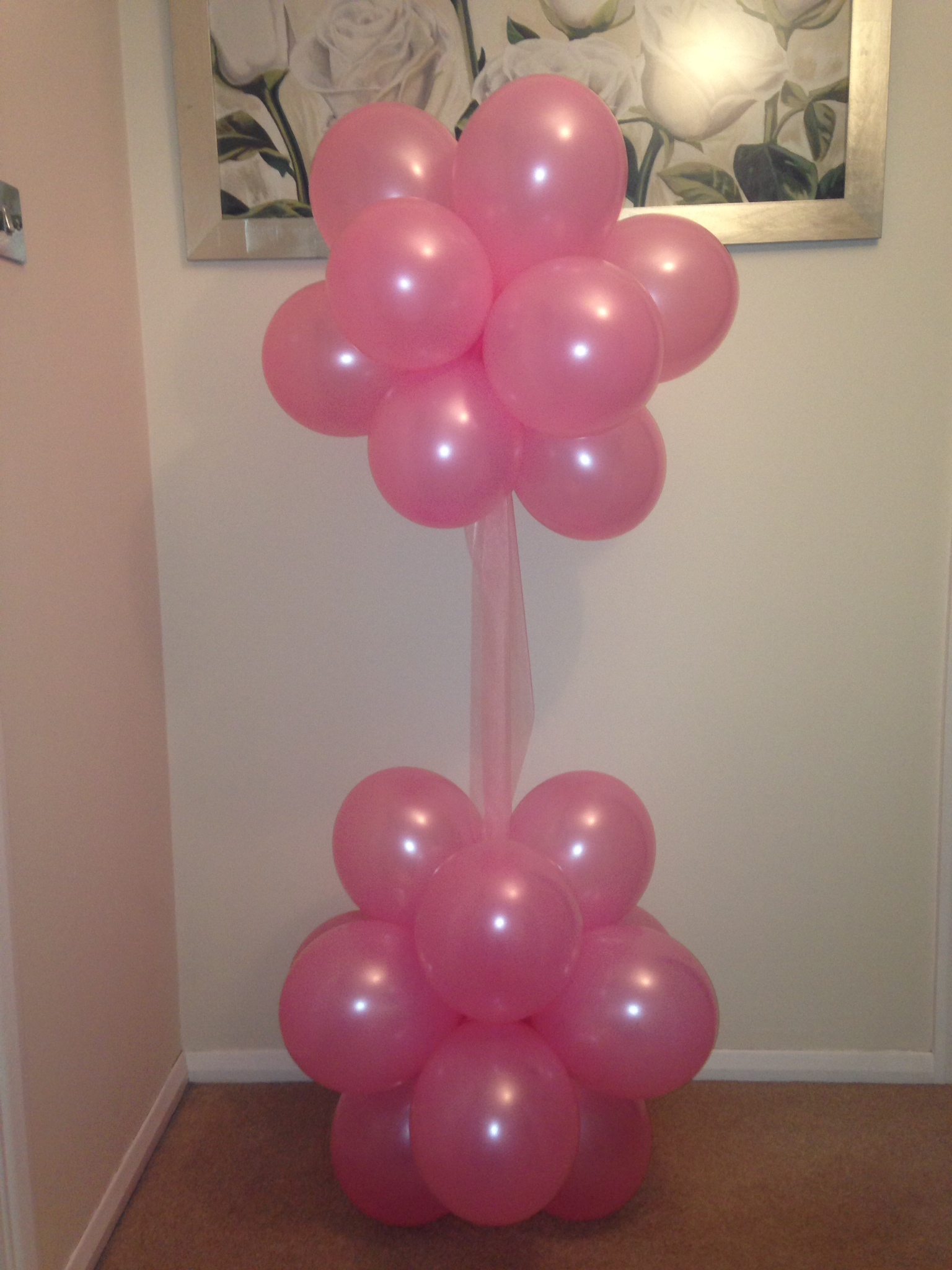 My finishing touch balloon artist and event decorations for Balloon cloud decoration