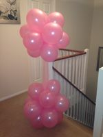 Pink Cloud balloon decoration
